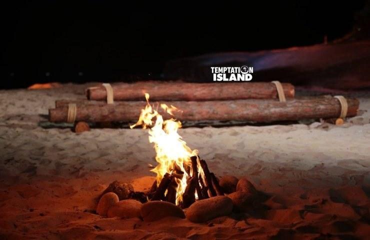 Temptation Island il falò