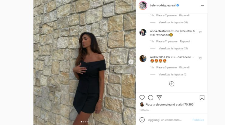 Screenshot Belen Rodriguez