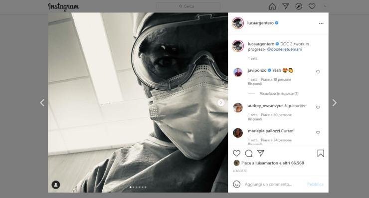 Screenshot Luca Argentero