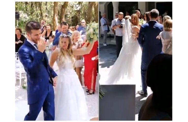 Screenshot Matrimonio Claudia Venturini e Stefano Socionovo