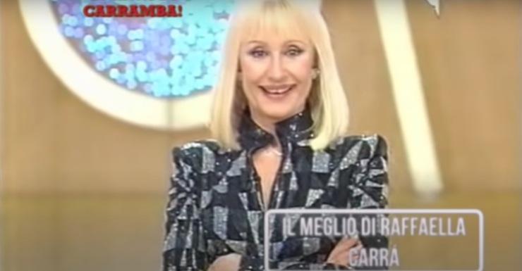 Screenshot Raffaella Carrà