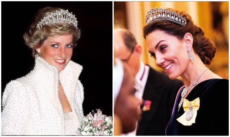 Lady Diana Kate Middleton