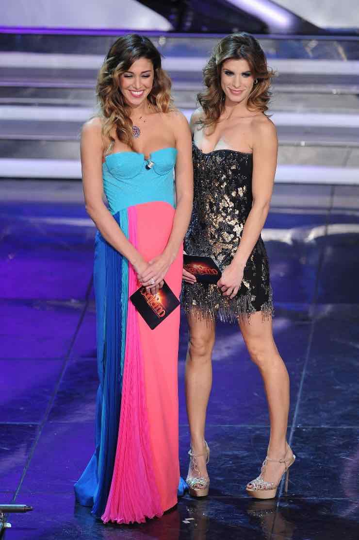 Belen Rodriguez e Elisabetta Canalis