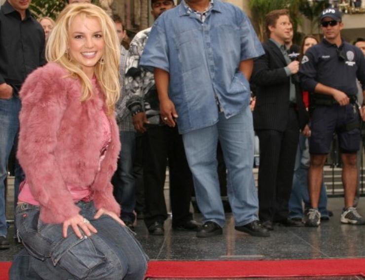 Britney Spears walk of fame
