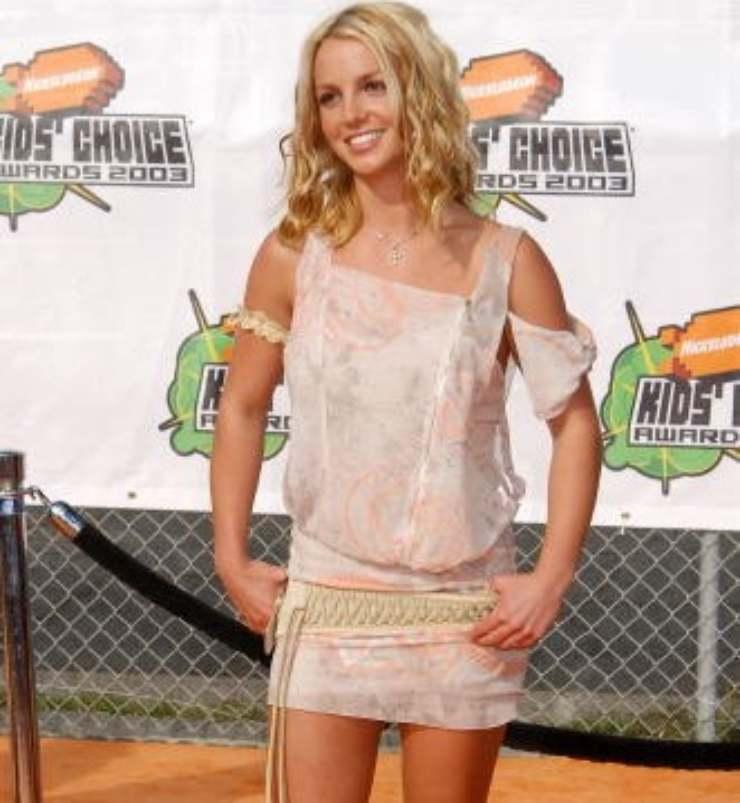 Britney Spears kids' choice awards