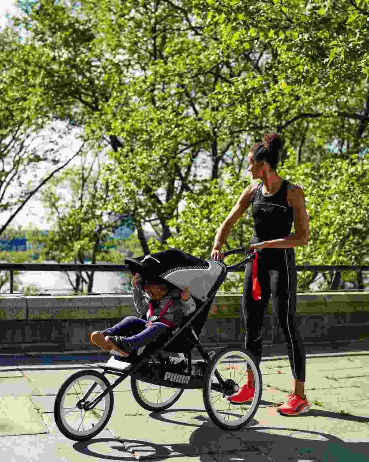Il nuovo passeggino sportivo Cybex brandizzato Puma