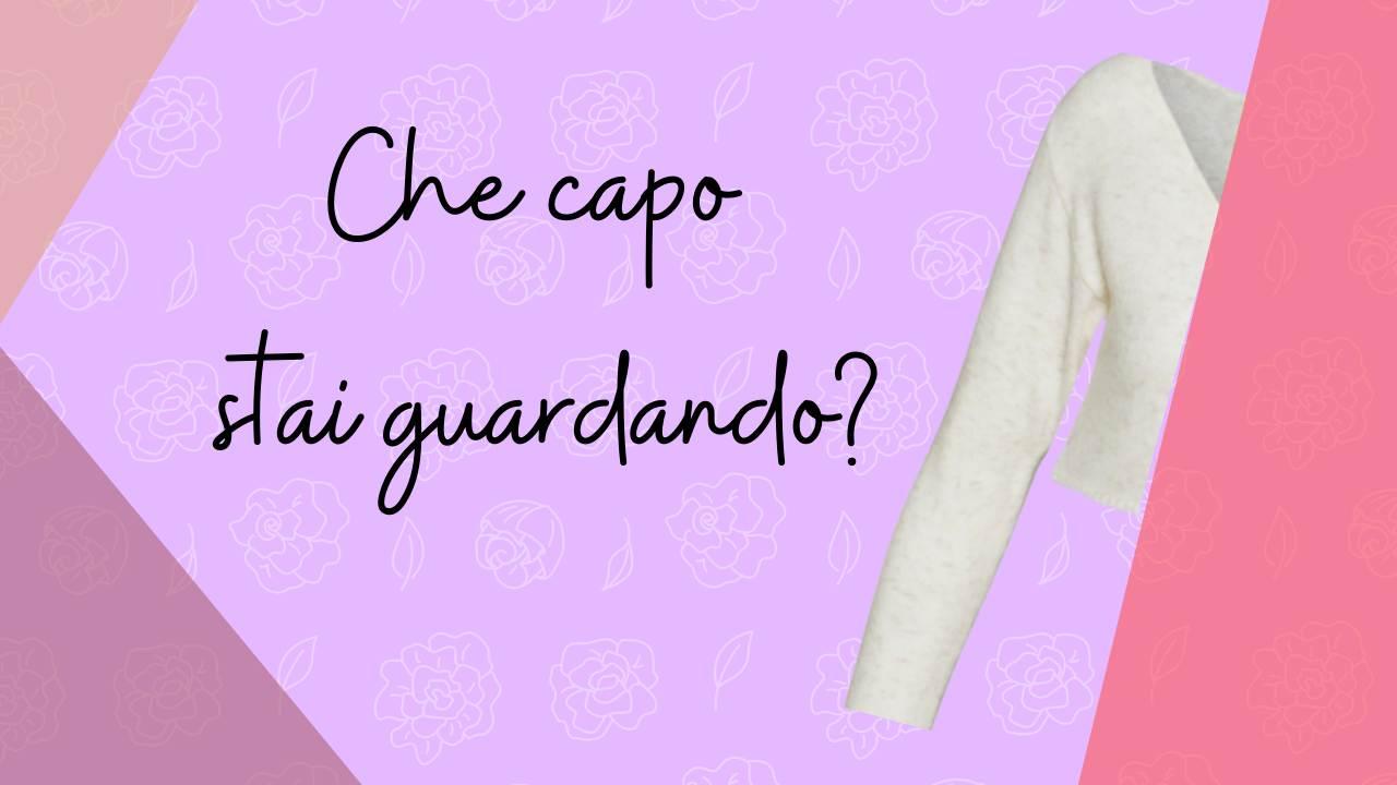 Fashion quiz micro cardigan