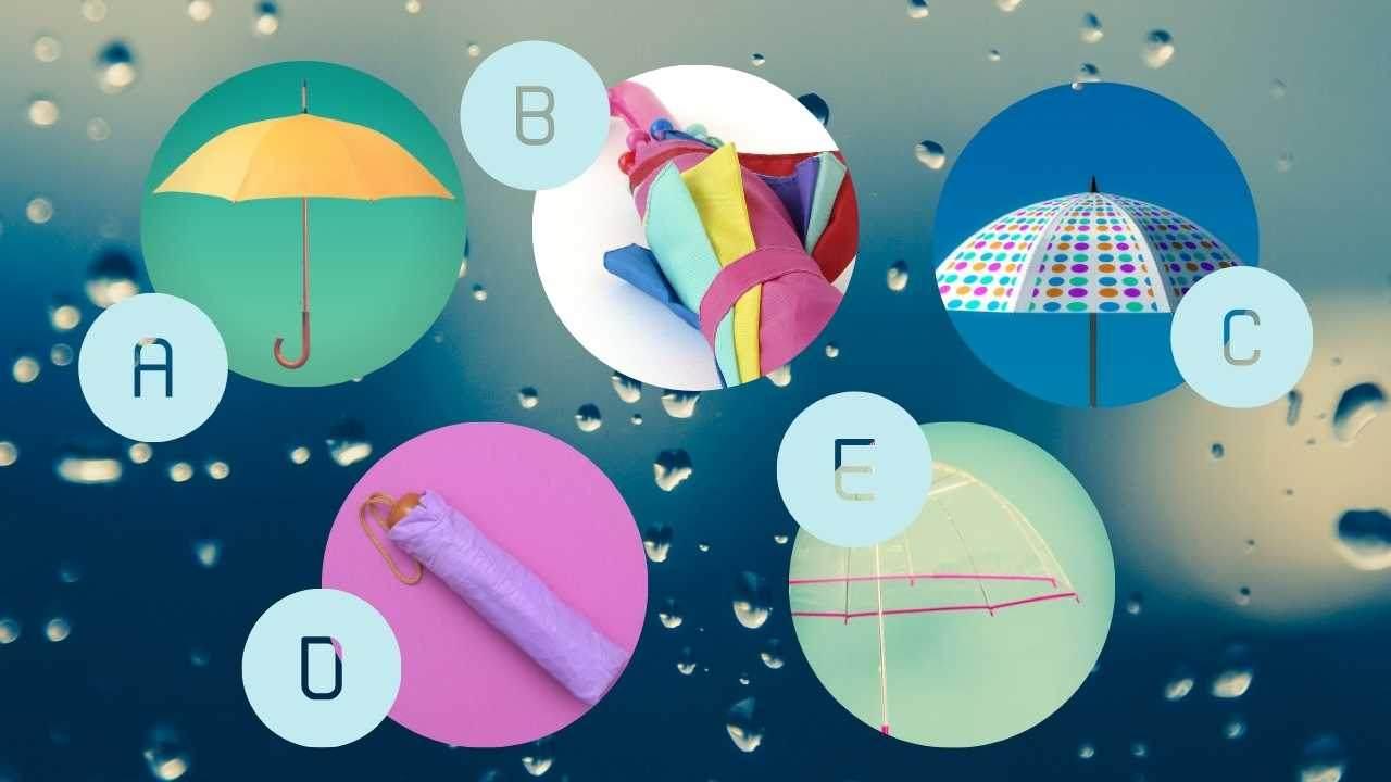 ombrello test personalità