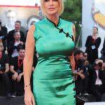 Paola Ferrari abito orientale