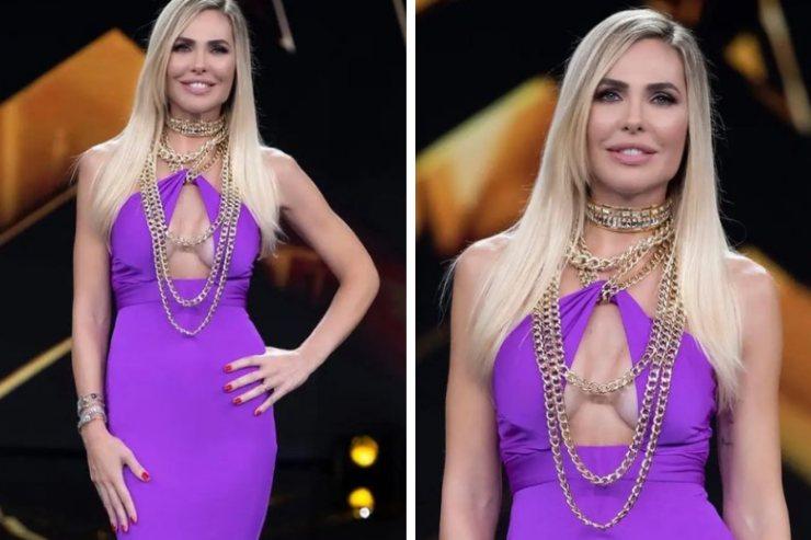 Ilary Blasi abito Lia Stublla