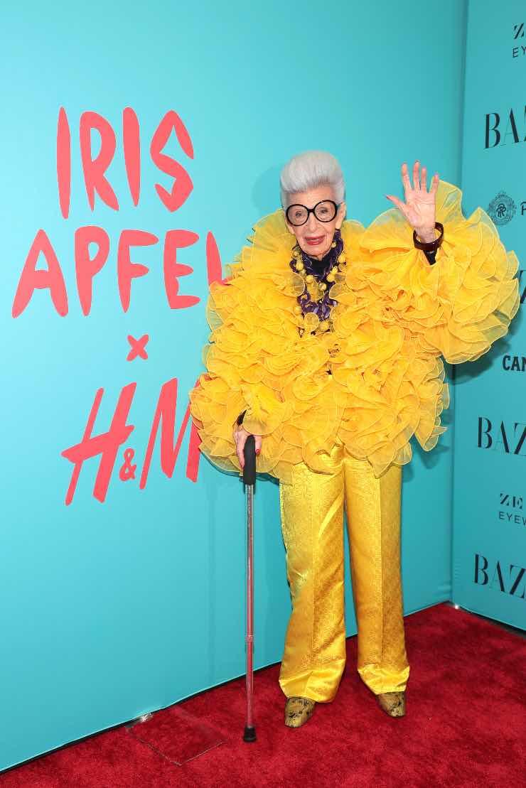 Iris Apfel per H&M