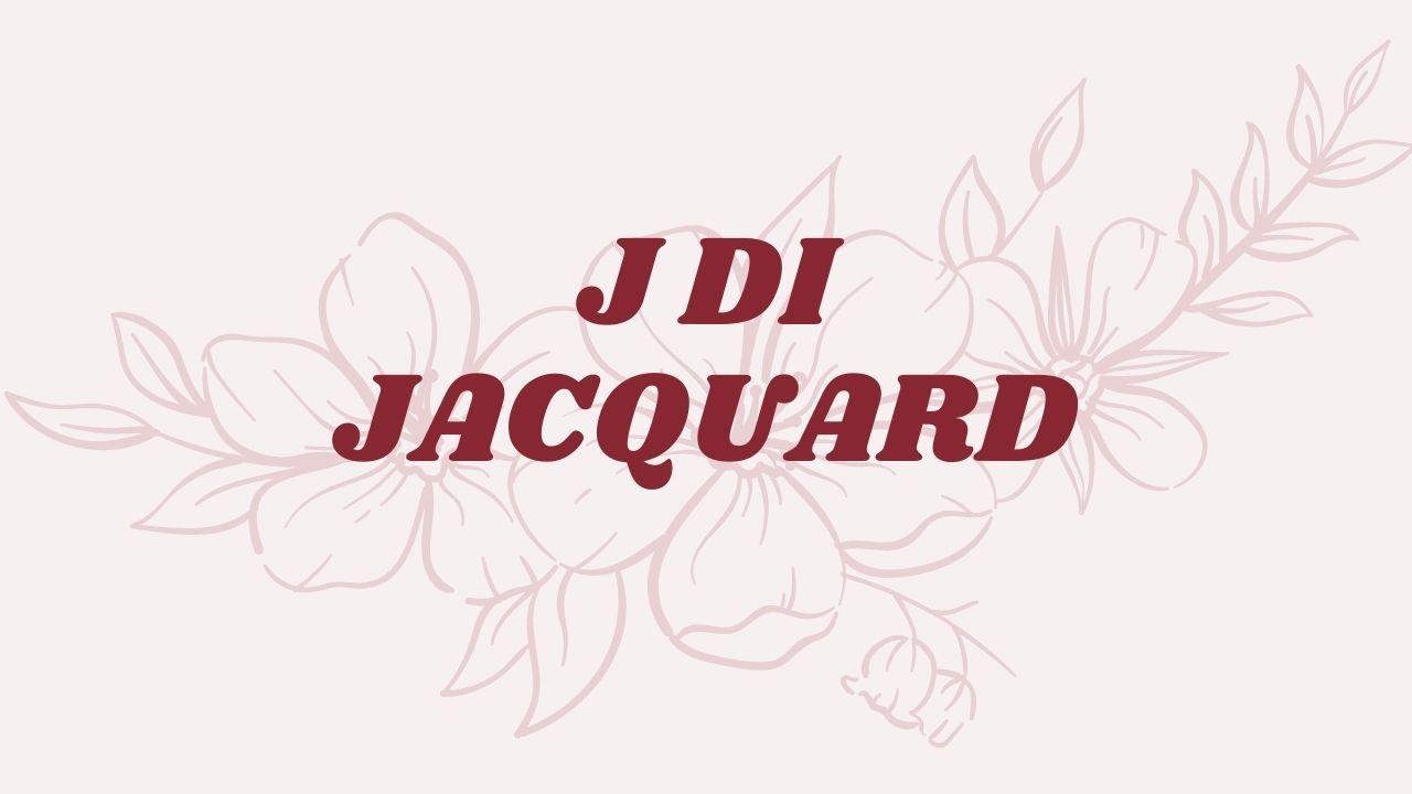 J DI JACQUARD QUIZ CIAOSTYLE.IT