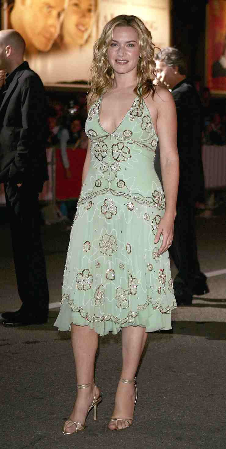 Kate Winslet abito verde ciaostyle.it (2)