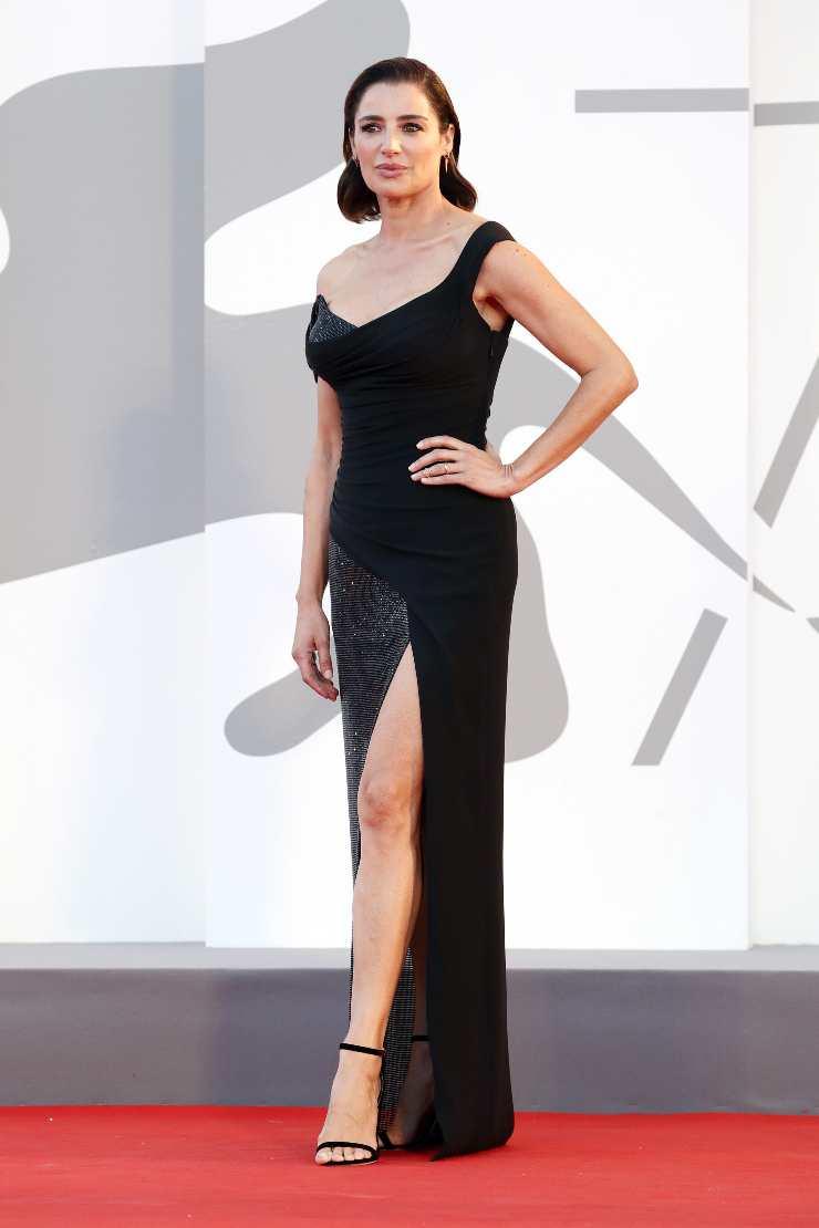 Luisa Ranieri - abito nero Venezia