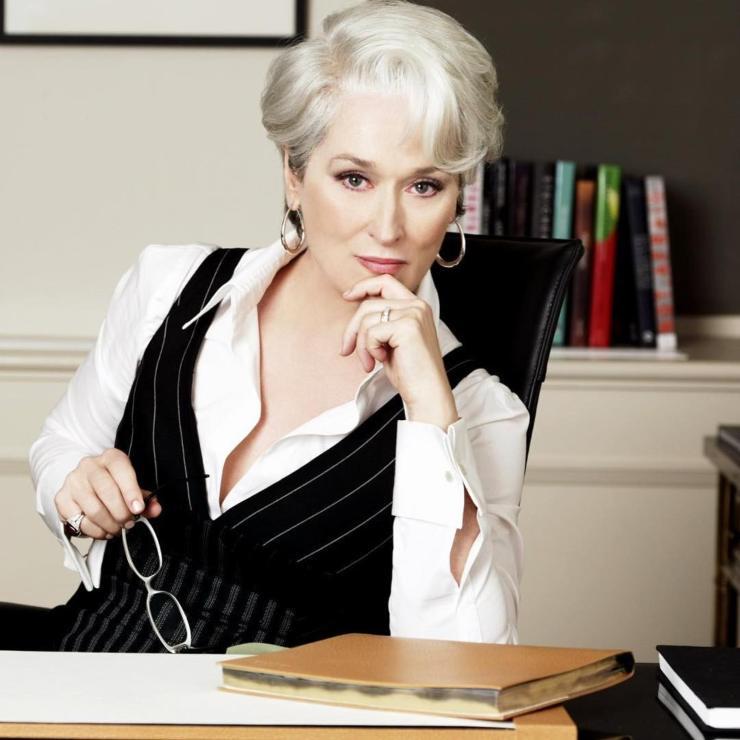 Meryl Streep Il diavolo veste prada ciaostyle.it