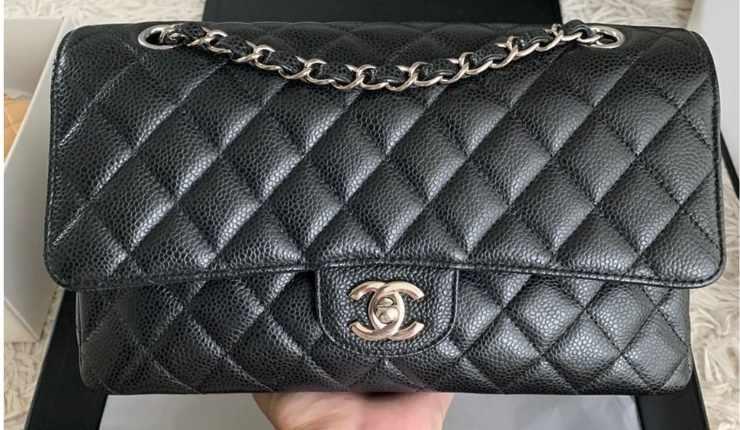 borsetta Chanel nera intera