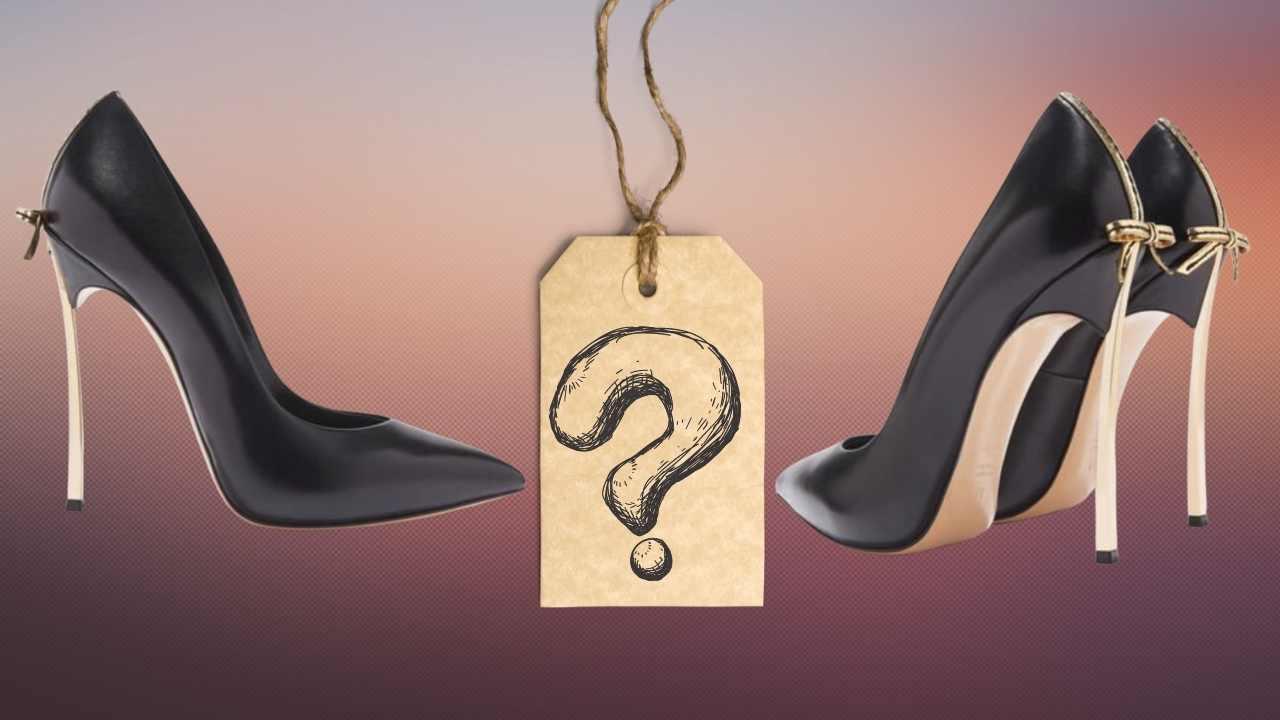 riconosci la griffe delle scarpe