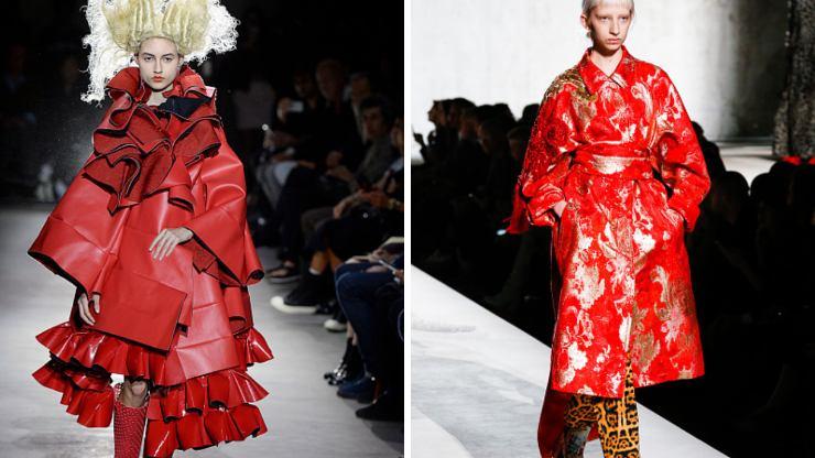 Rosso colore trend autunno 2021