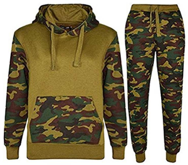 Tuta da ginnastica camouflage