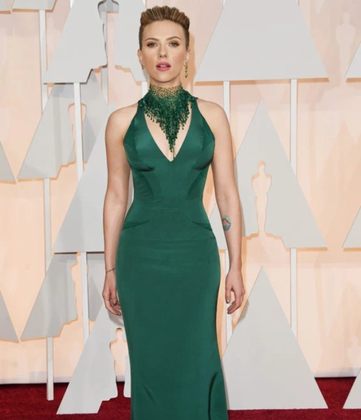 Scarlett Johansson Oscar 2015