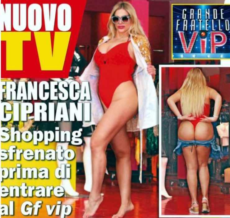 Francesca Cipriani costume rosso