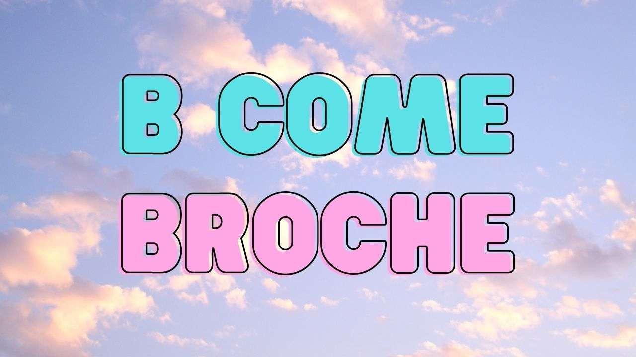 VOCABOLARIO MODA broche ciaostyle.it -