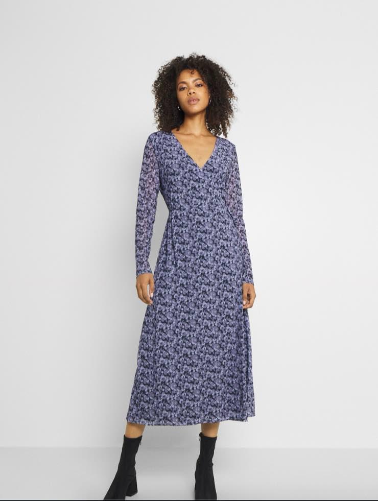 Vestito viola azzurro Zalando