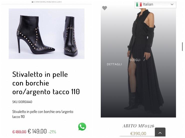abito e scarpe