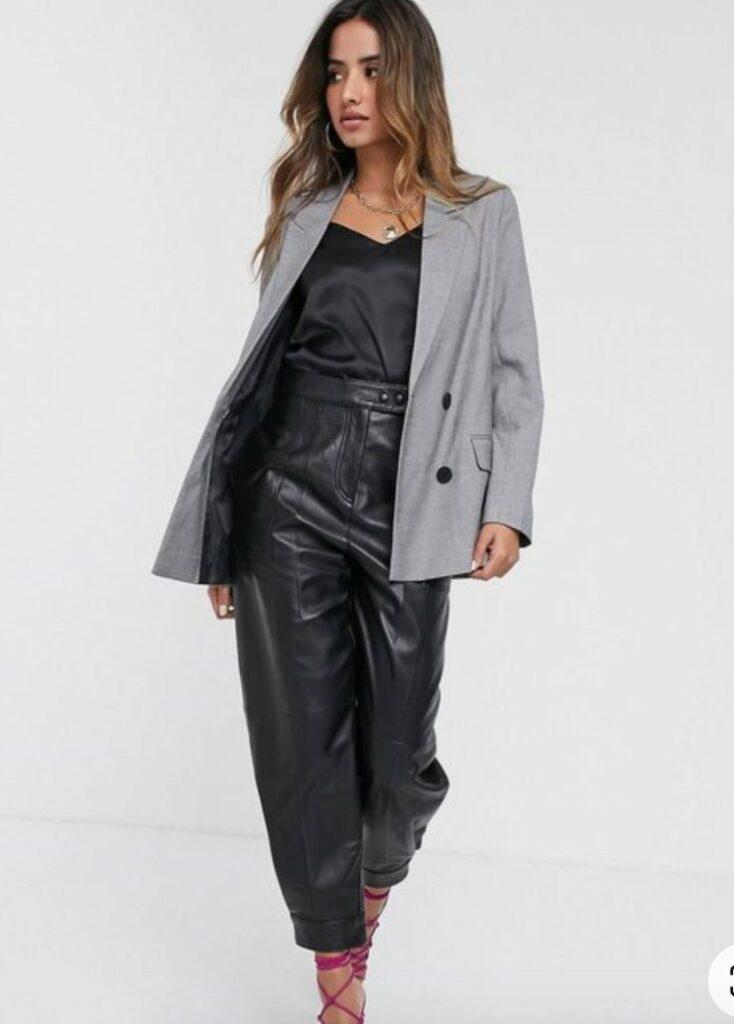 blazer grigio