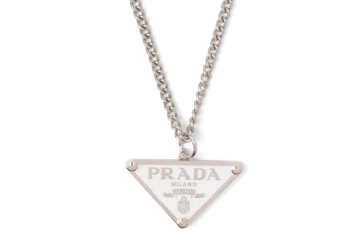 collana Prada symbole