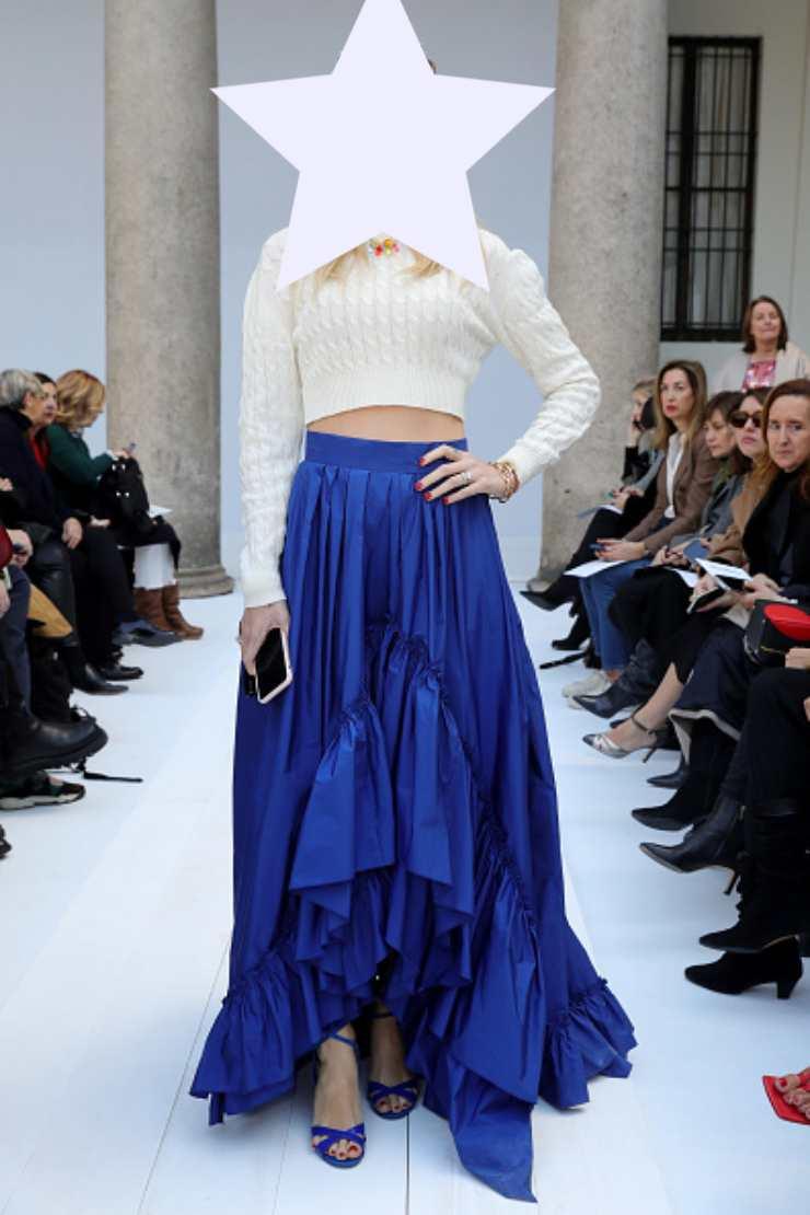 Chiara Ferragni Milano fashion Week