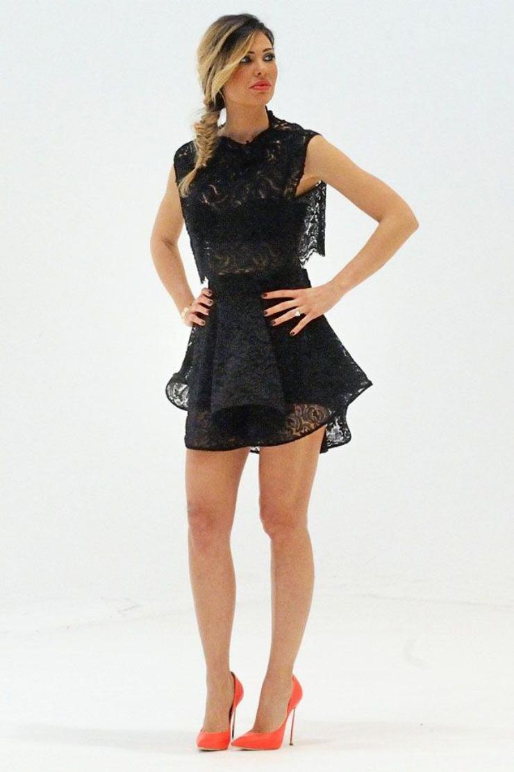 mini dress a balze