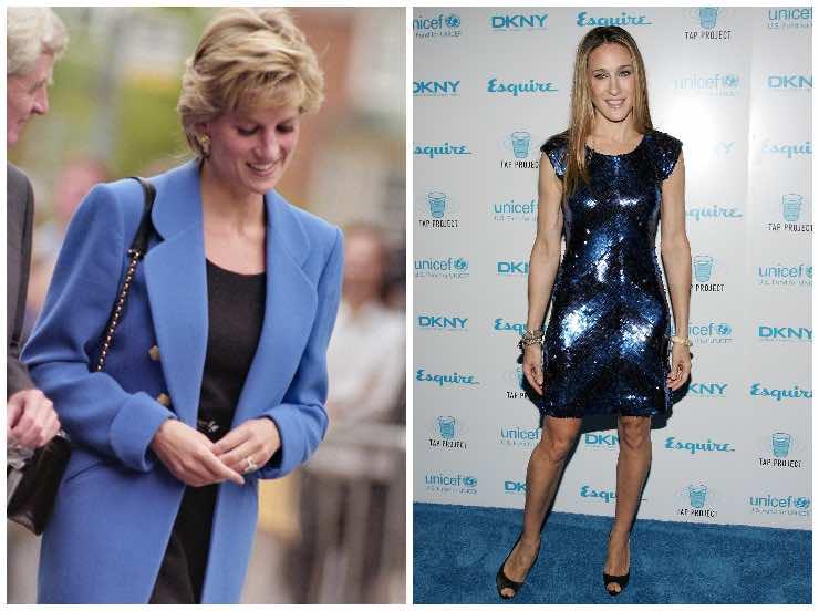 Lady Diana e Sarah Jessica Parker