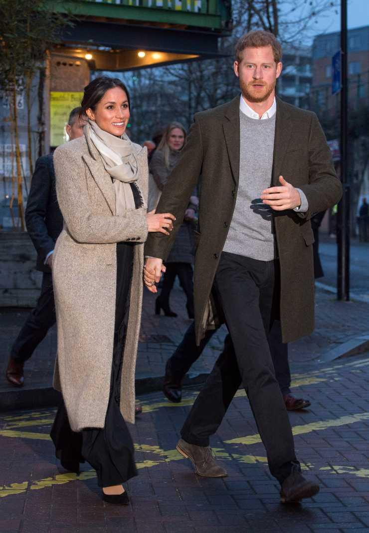 meghan markle cappotto classico come lo indosa ciaostyle.it