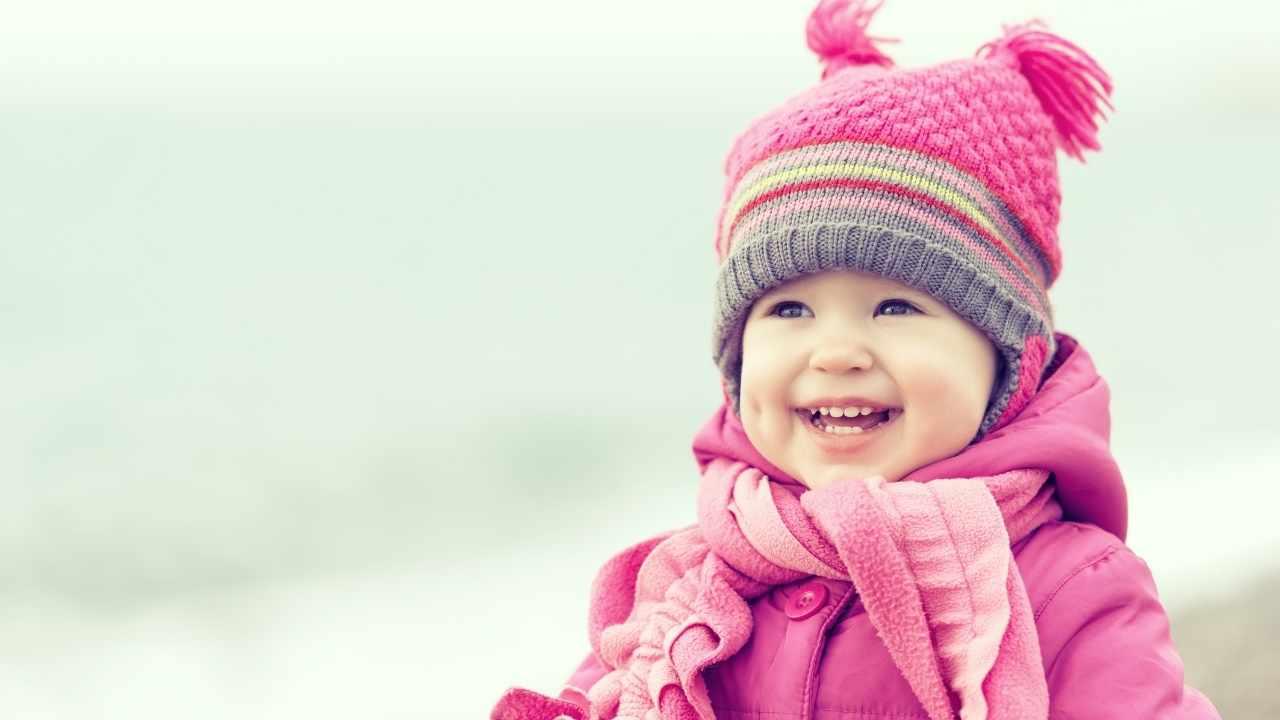 bambina inverno