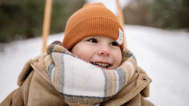 bambino inverno