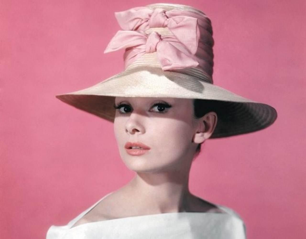Audrey Hepburn in California,1957