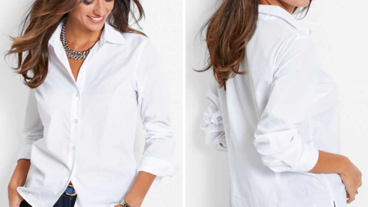 Camicia bianca bonprix