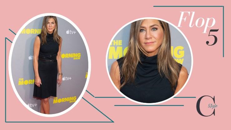 Jennifer Aniston in nero