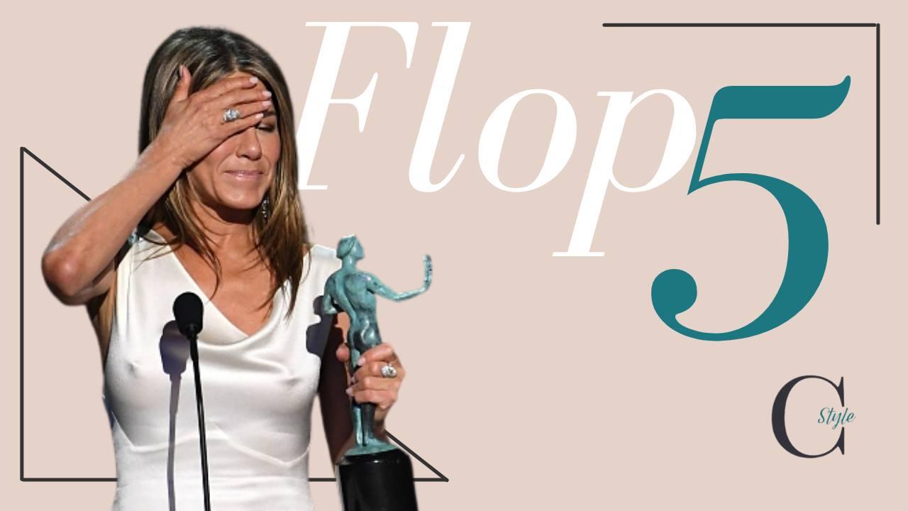 Jennifer Aniston 5 look peggiori