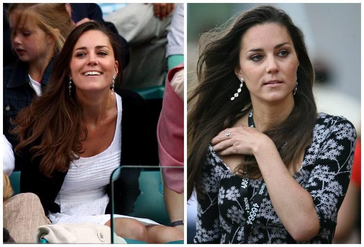 Kate Middleton ieri