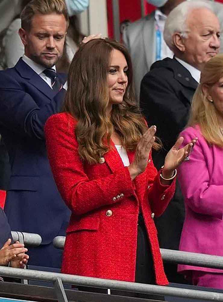 kate blazer rosso