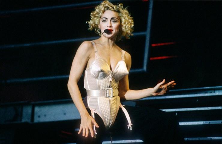 Madonna Blonde Ambition Tour 1990