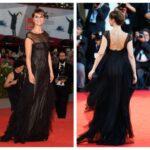 Paola Cortellesi long dress