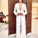 Rossella Brescia outfit bianco