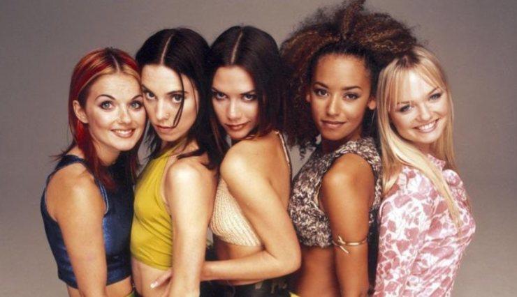 Spice Girls servizio fotografico