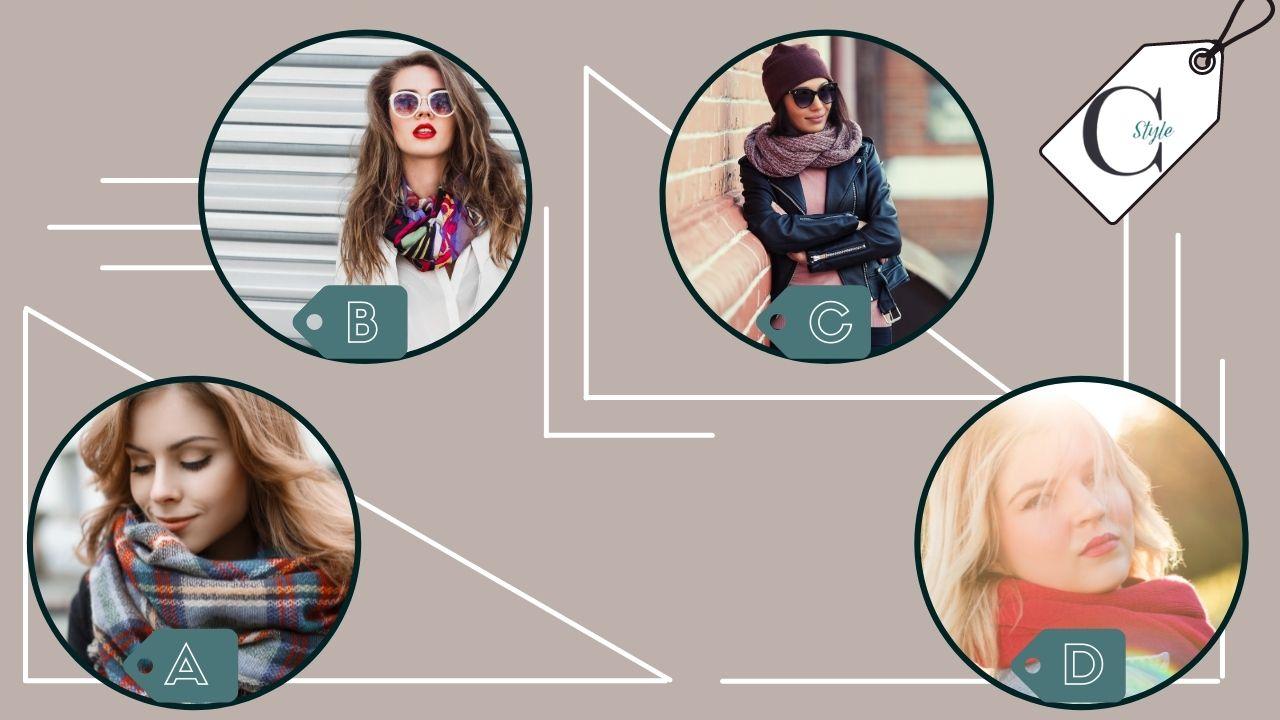 TEST - QUIZ- sciarpa quale preferisci scegli