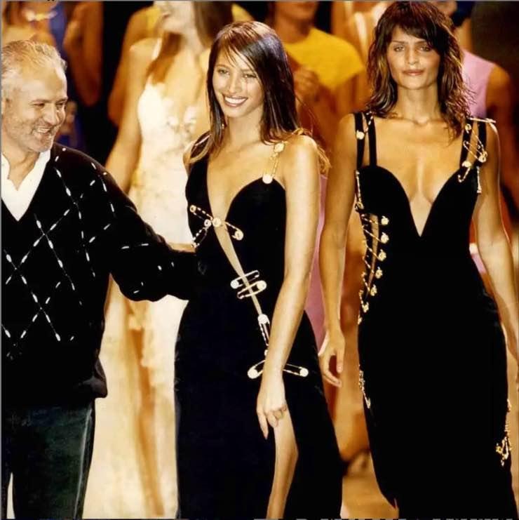 sfilata Gianni Versace