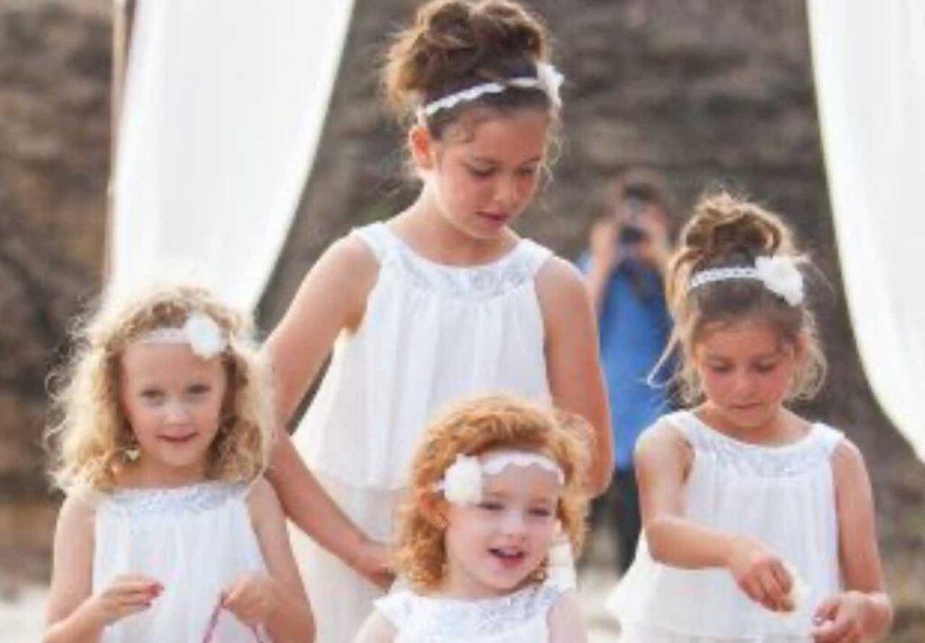 bambini vestiti occasioni importanti