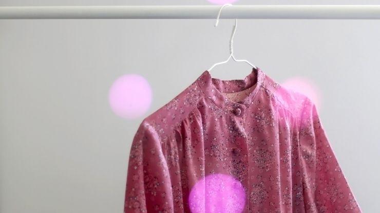 abito rosa vintage
